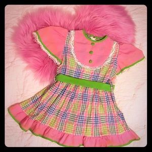 Other - Vintage Girls Dress 2T - Slim 3T